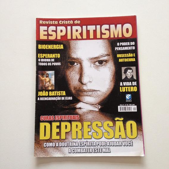 Revista Cristã De Espiritismo Curas Espirituais Nº24 Cc577