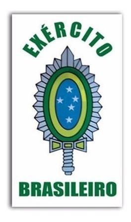 Adesivo Brasão Exército Brasileiro Frete Grátis