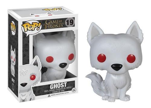 Figura Funko Pop Games Of Thrones - Ghost 19 Original Wabro