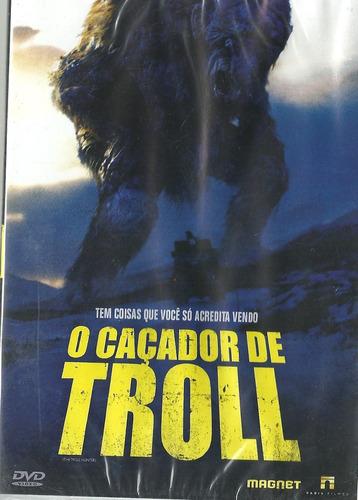 Dvd O Caçador De Troll - André Øvredal   Mercado Livre
