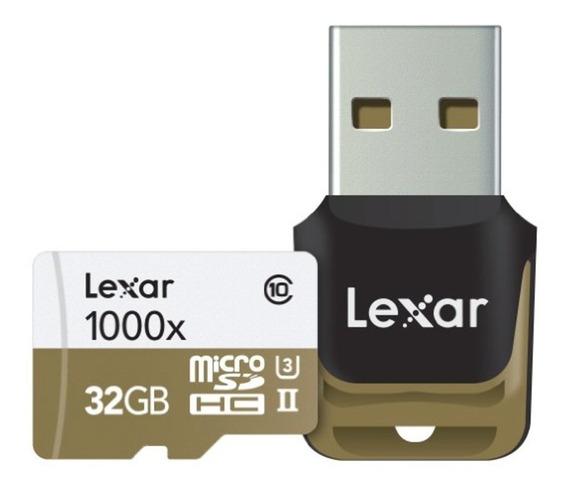 Cartao Micro Sd Lexar 32gb 1000x Profissional - Original