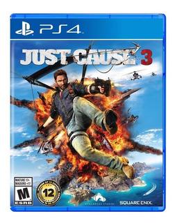 Ps4 Juego Just Cause 3 Compatible Con Playstation 4