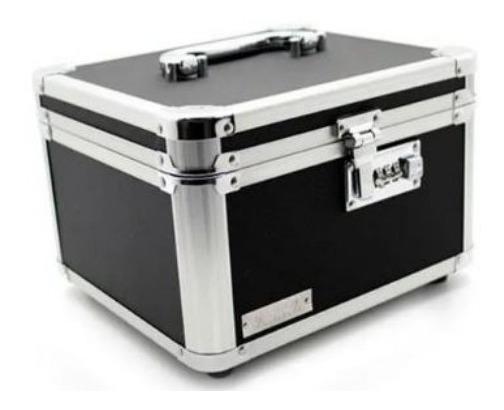 Caixa Organizadora Porta Dvd Vaultz P/ 14 Cases Cód. 803109