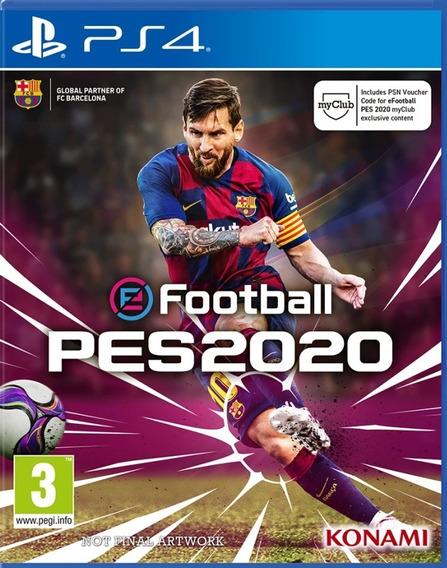 Pes 20 | Efootball 2020 | Ps4 - 1 | Português