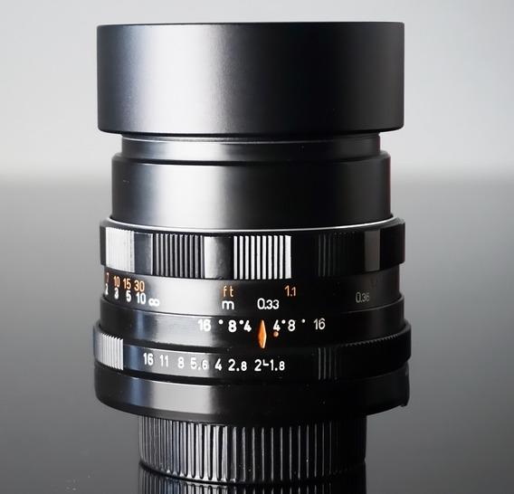 Lente Pentacon 50 F1.8-m42 - Mdf33 Cm!sony-canon- Micro4\3