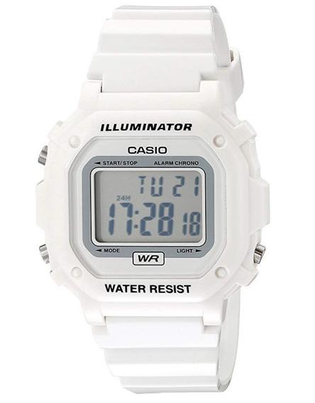 Reloj Casio Blanco Brillante Iluminator Waterre Envio Gratis