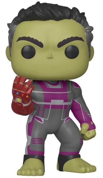 Funko Pop Figura Marvel Avengers Endgame Hulk Guantelete 6