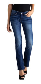 Calça Jeans Levis 715 Bootcut Feminino Azul Médio