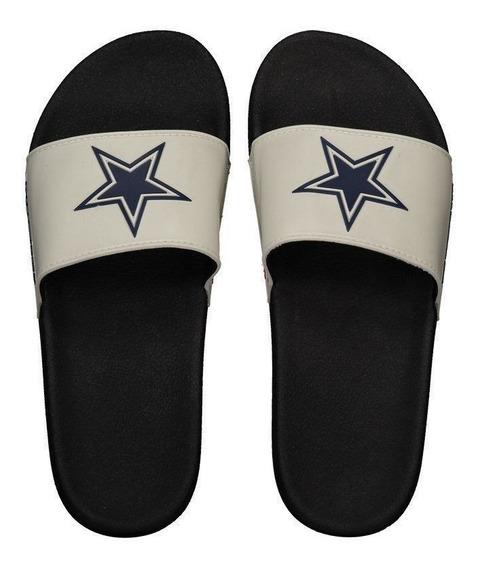Chinelo Nfl Dallas Cowboys Branco