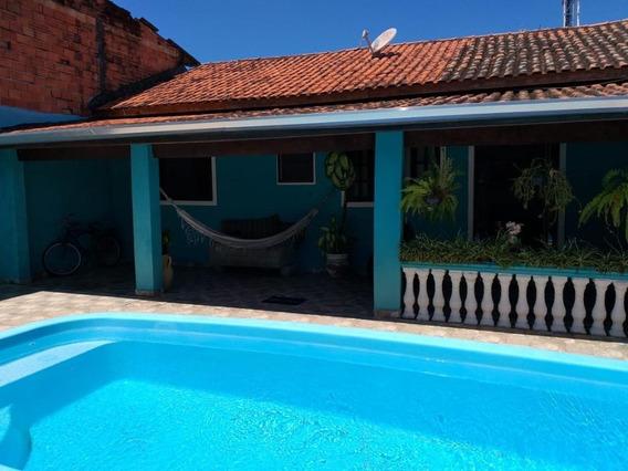 Casa Em Praia Das Palmeiras, Caraguatatuba/sp De 140m² 3 Quartos À Venda Por R$ 370.000,00 - Ca473395