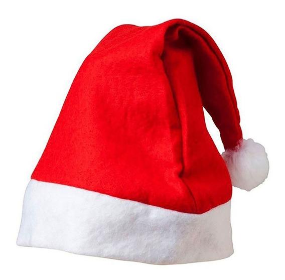 1 Gorro Navideño Santa Claus Rojo Navidad Posada Escuela