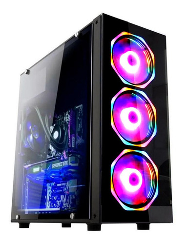 Pc Gamer Fácil Intel Core I3 9100 16gb Amd Radeon Rx 4gb 1tb