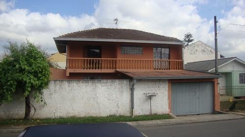 Imagem 1 de 4 de Sobrado Com 3 Dormitórios À Venda Com 151m² Por R$ 550.000,00 - Pinhais / Pr - Sob-030