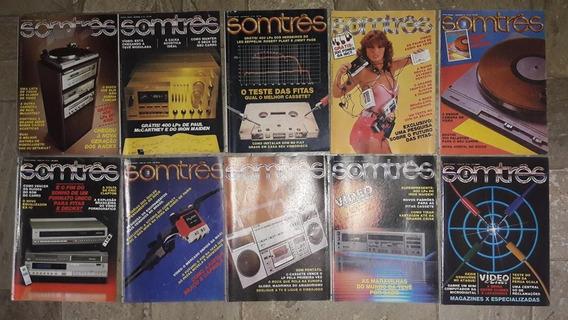 Somtrês - Coleção Com 16 Revistas Somtrês A R$ 26,00 Cada.