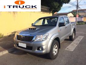 Toyota Hilux Cd 4x4 Diesel Std Ano 2015 Com 73 Mil Km.