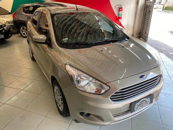 Ford Ka + Sedan 1.5 Se Flex 4p Prata 2017 Completo Lindo !!