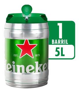 Cerveja Heineken Barril 5 L - Limite 2 Unidades Por Pedido