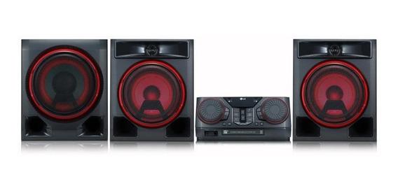 Minicomponente LG Ck57 1100w Tv Sync M-bt Karaoke