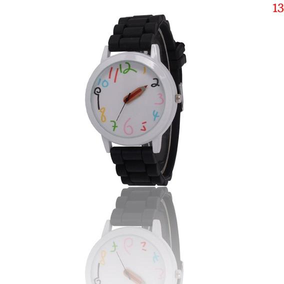 Zlf0326 Relógio Quartzo Com Cinta Silicone Mulheres