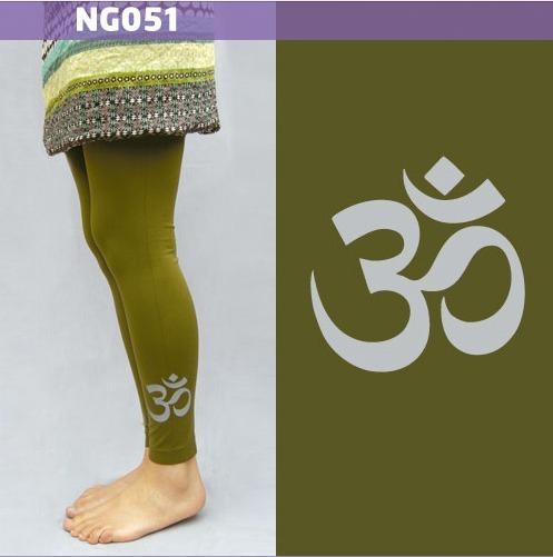 Leggings Mallónes Para Mujer Con Simbolo Om Ng051