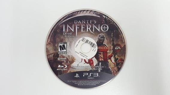 Dantes Inferno Divine Edition - Ps3 - Sem Encarte - Usado