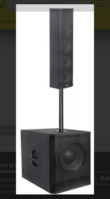 Line Array Vertical 450 Watts Rms Bluetooth Usb