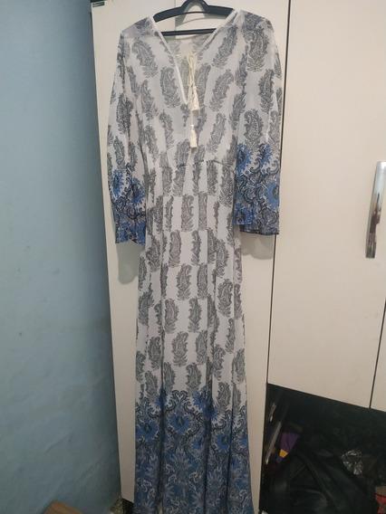 Vendo Vestido Longo Colcci Original E Exclusivo