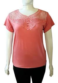 Blusa Camiseta Roupa Feminina Plus Size Tamanho Grande