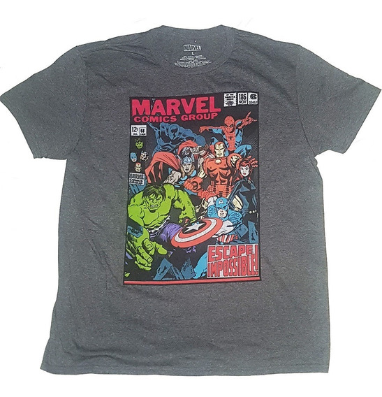 Remeras Marvel Comics Originales Talle M L Importadas Nuevas