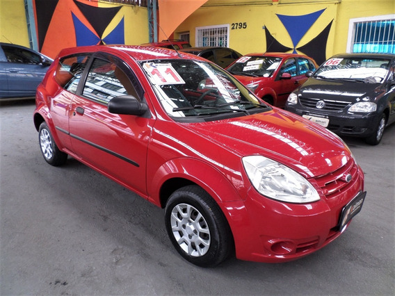 Ford Ká 1.0 Com Dir.+vidros E Travas Elétricas....