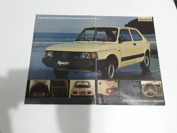 Propaganda Antiga Fiat Spazio Cl 1983 Anúncio Publicidade !!