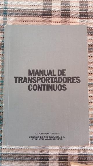 Manual De Transportadores Contínuos Fabrica De Aço Paulista