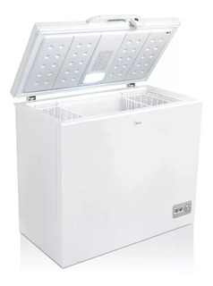 Freezer Horizontal Dual Midea 198lts Blanco Cf-mc10war1
