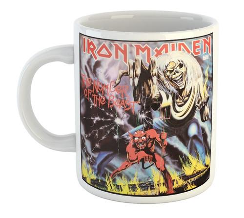 Taza De Plastico Iron Maiden Hard Rock Heavy Metal Musica M4