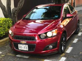 Chevrolet Sonic Ltz Automatico Unico Dueño Factura Original