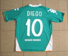 31216983df Camisa Original Werder Bremen 2007 2008 Home  10 Diego