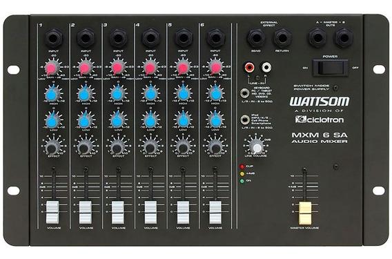 Wattsom / Ciclotron - Mxm 6 Sa ¨¨ Mesa De Som 6 Canais
