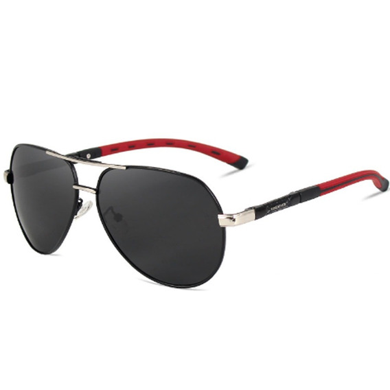 Óculos De Sol Masculino Lente Polarizada Uva Uvb Aviador K