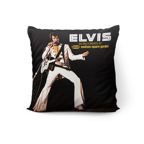 Cojín Elvis: Madison Square Garden 45x45cm Vudú Love