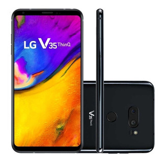 Smartphone LG V35 Thinq 128gb E 6gb Ram Orig. Nf Garantia