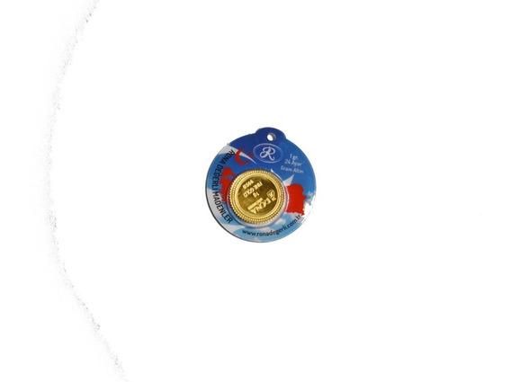 Lingote De Oro 1 Gramo De 24 Kilates Oro Fino Nadir Turquia