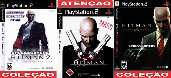 Hitman Ps2 Silent, Contracts, Blood (3 Dvds) Patch Me