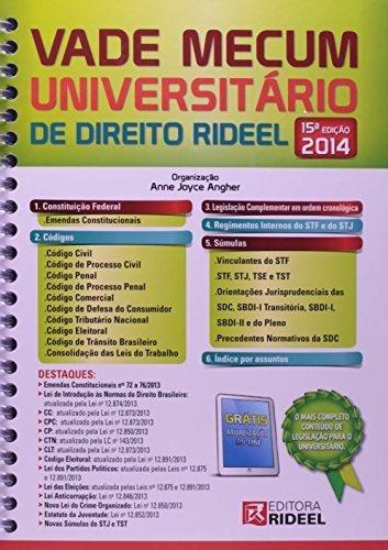 Vade Mecum Universitario Direito Rideel