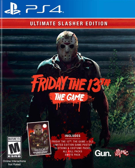 Friday The 13th: The Game Ultimate Slasher Edt. - Ps4