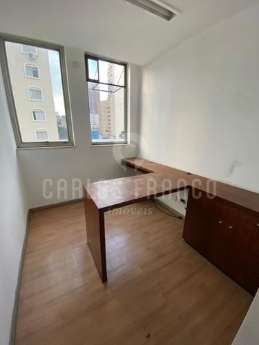 Conjunto Comercial De 98m² Mobiliado, Com 6 Salas, Copa, Recepção, 2 Banheiros Em Pinheiros - Cf65705