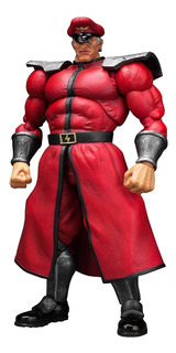 Street Fighter V - M. Bison - Storm Collectibles Robot Negro