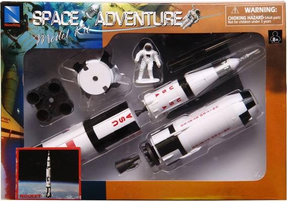 Kit Para Montar - Space Adventure Model Kit - Rocket Foguete