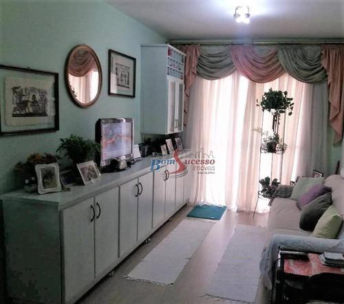 Apartamento Com 3 Dormitórios À Venda, 78 M² Por R$ 650.000,00 - Tatuapé - São Paulo/sp - Ap2295