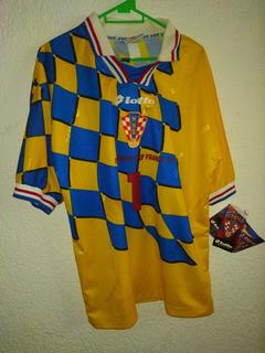 Jersey Croacia 1998 Portero Drazen Ladic