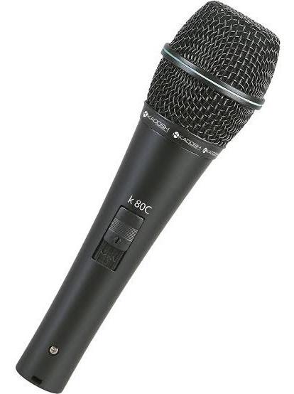 Microfone K-80c Kadosh Condensador